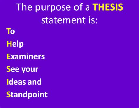 The APA Format for a Problem & Purpose Statement for a